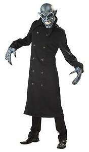 Details About Gothic Walking Dead Night Fiend Vampire Zombie Hunter Adult Costume