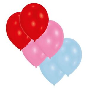 30pk-Solid-Couleur-Assorties-23-cm-Latex-Ballons-Rose-Bleu-Rouge-Anniversaire-Mariage