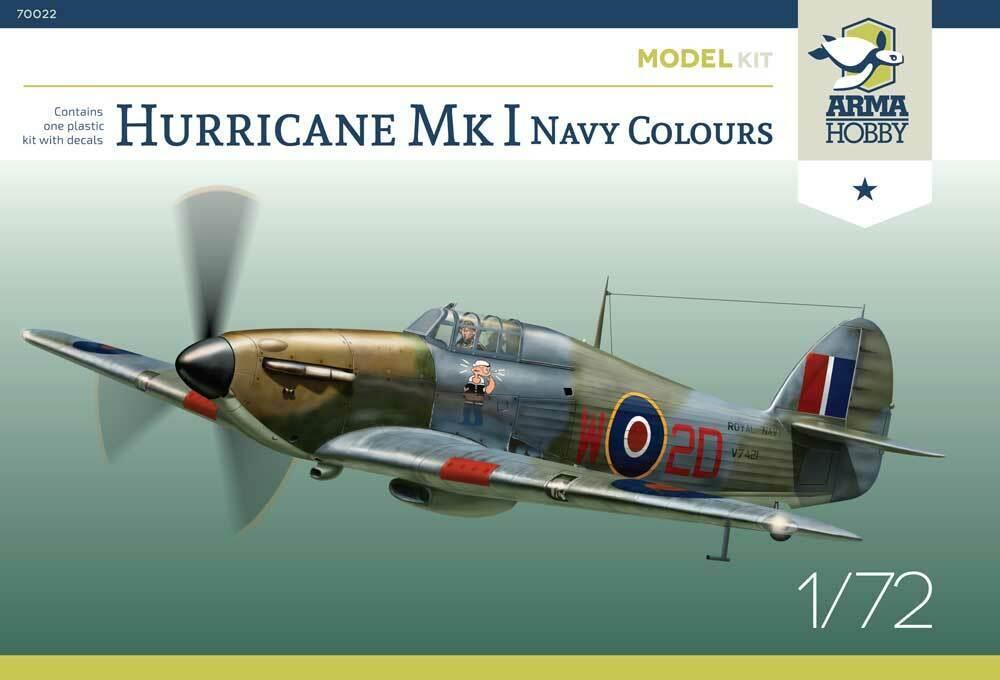 arma -  [ARMA HOBBY] Hurricane Mk.I   (revue de kit) S-l1600
