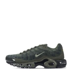 online store 67c54 a9c42 Details about Nike Air Max Plus TN Tuned Jacquard Men's Trainers Cargo Khaki