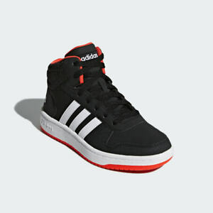 Adidas HOOPS 2.0 MID SHOES, Size 6 US