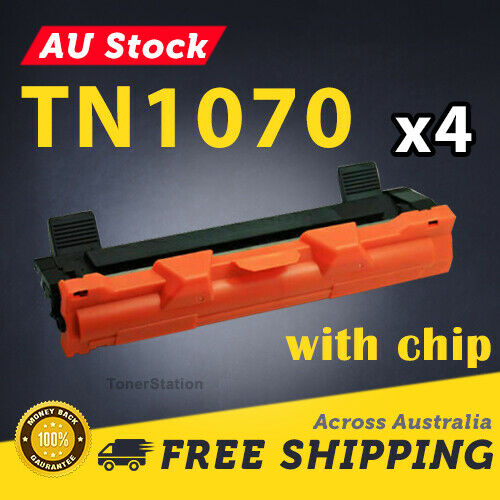 4x TN1070 TN 1070 Toner for Brother DCP1510 HL1110 MFC1810 HL1210W Laser Printer