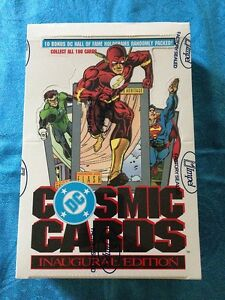 DC-Cosmic-Cards-Trading-Cards-Box-Impel-Factory-sealed