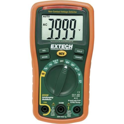 nombre de Multimètre numérique Extech EX330 CAT III 600 V Affichage