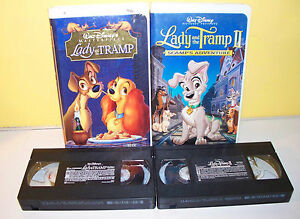 Walt Disney Lady And The Tramp Plus Lady And The Tramp 2 Clam Shell Vhs Ebay