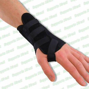 Neoprene-Wrist-Brace-Splint-Support-RSI-Carpal-tunnel-Arthritis-Sprain-Strain