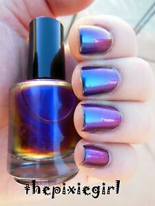 CHROMAFLAIR Color Shift Multichrome Blue Purple Pink Green Nail ...