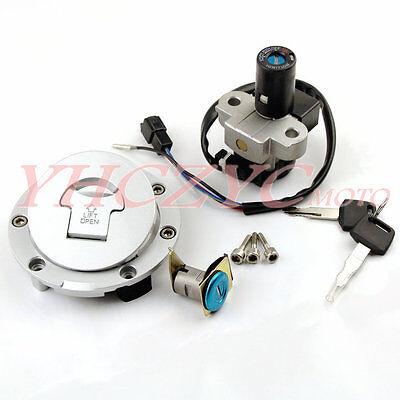 Ignition Switch Fuel Gas Cap Cover Seat Lock Key Set for Honda NSR MC18 MC21