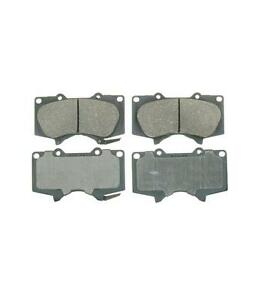 Front Ceramic Brake Pads For GX470 4Runner Sequoia Tacoma Tundra