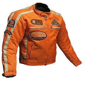 new product 5a99b 56f4d Details zu Biker Motorrad texteil Jacke.Motorrad Sommer Jacke.Biker Club  Texteil jacke Gr-L