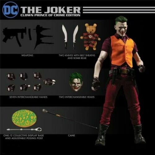 """New 6/"""" DC The Joker Clown Prince of Crime Collective Action Figure Toy No Box"""
