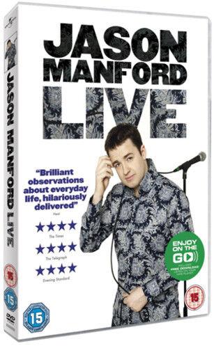 Jason Manford: Live 2011 DVD (2011) Jason Manford ***NEW***