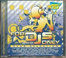 For Djs Only 2010/01 Club Selection - Lady Gaga/Mika/Whitney Houston 2X Cd Nuovo