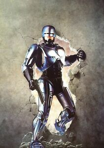ROBOCOP-Movie-PHOTO-Print-POSTER-Textless-Film-Art-Paul-Verhoeven-Peter-Weller-3