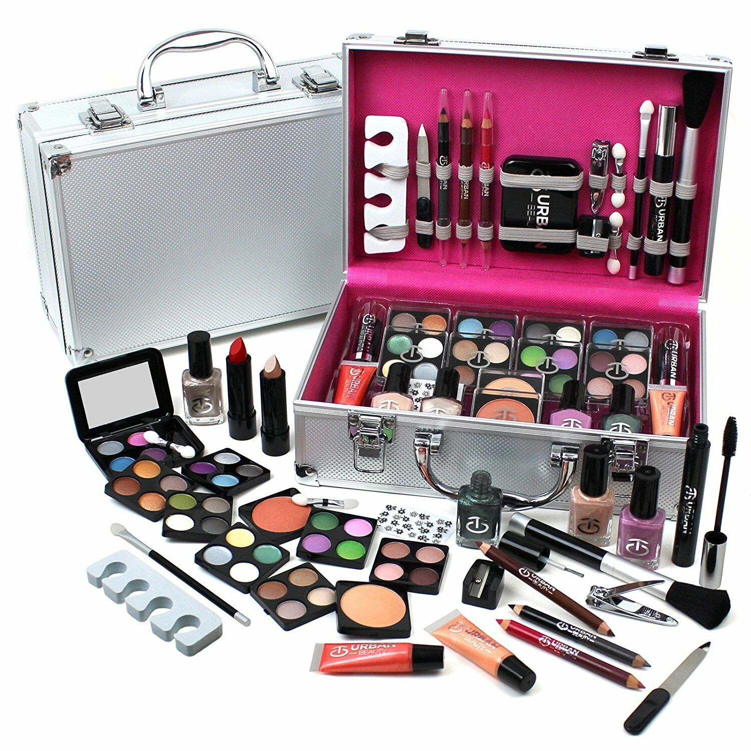 Urban Beauty Make Up Set & Vanity Case 26% OFF £21.99 @ eBay