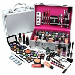 Urban-Beauty-Make-Up-Set-amp-Vanity-Case-60pcs-Cosmetics-Collection-amp-Carry-Box