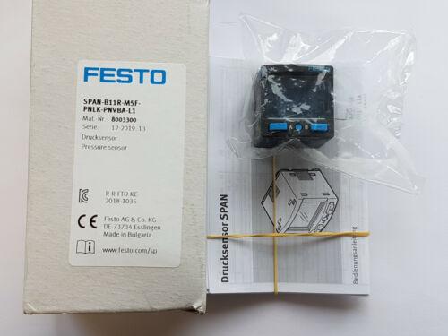 pnlk-pnvba-l1 8003300 sensor de presión nuevo//en el embalaje original worldwide factura Festo span-b11r-m5f