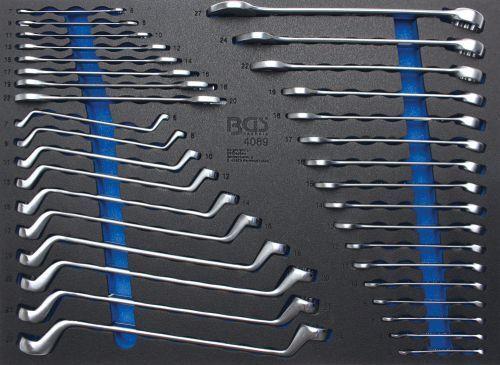 Bgs 35 Teilige Werkstattwageneinlage Maul- Ring- Ring-ringschlüssel-satz 4089 Bevorder De Productie Van Lichaamsvloeistof En Speeksel