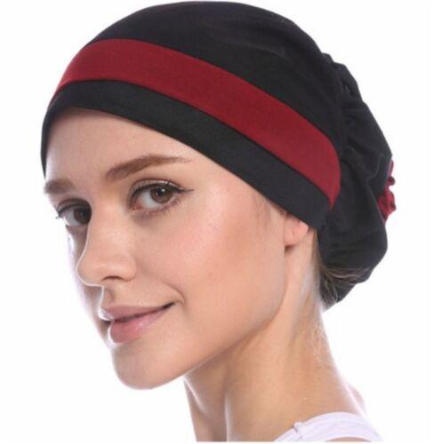 Cabello amplia banda turbante bandana quimio verano gorra noble