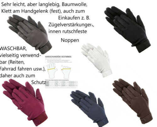 Cotton Gloves Riding Gloves Gloves For Shopping Bicycle Shopping Trolley