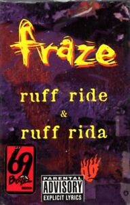 Fraze - Ruff Ride & Ruff Rida Cassette Tape Single *New*