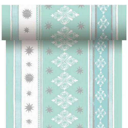 Duni Dunicel Tischläufer 24 x 0,40 m Tischband Dekoration Tischdeko Weihnachten