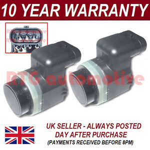 4X FOR VOLVO S60 S80 V70 XC70 PDC PARKING DISTANCE SENSOR FRONT REAR 4PS2010S