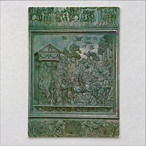 Vatican-City-St-Peter-039-s-Bascilica-Gate-Central-Lobour-of-Anthony-Postcard-P381