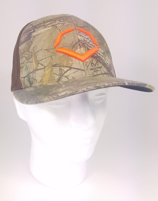 premium selection 6c79d ecc37 ... spain realtree evoshield flexfit mesh size back trucker cap hat  camouflage size mesh s m 9cd9f3 cc80f