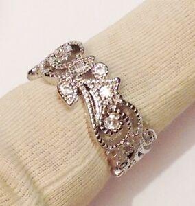 alliance-dentelle-argent-rhodie-style-joaillerie-solitaire-cristaux-diamant-T-51