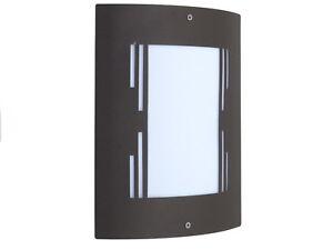 City applique lampada da parete per esterno design moderno