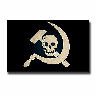 2 x Glossy Vinyl Stickers - Jolly Roger Communist Cool Laptop iPad Decal #4001