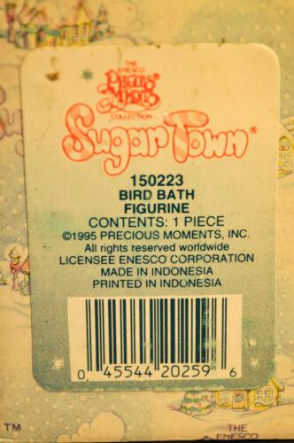 Sugar Town Bird Bath 150223 Precious Moments