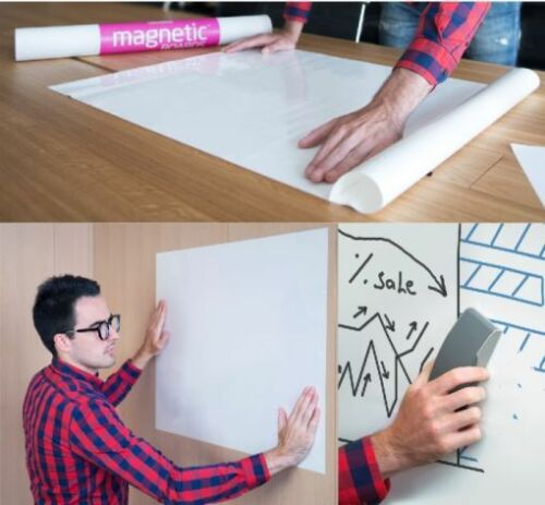 Haftnotiz Magnetic-Boards 840x590mm weiß 5er Pack