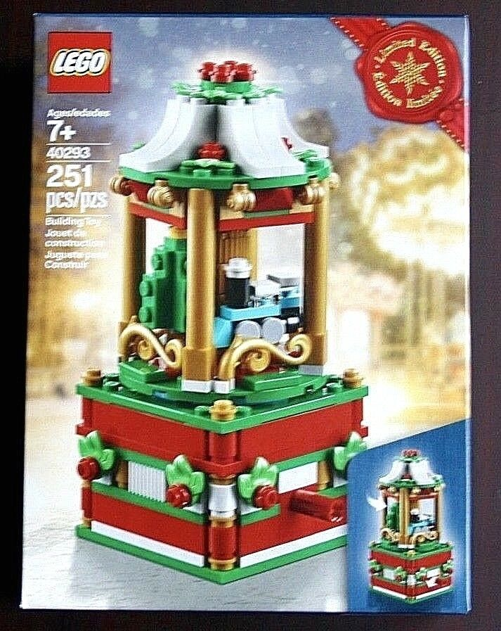 Lego CHRISTMAS CAROUSEL 40293 Tree Seasonal Exclusive Holiday 2018 Limited - NEW