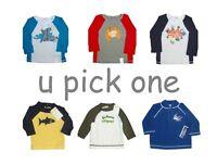 Rashguard Shirt Swim Childrens Place Gymboree Long Sleeve Boys Girls Upf 50+