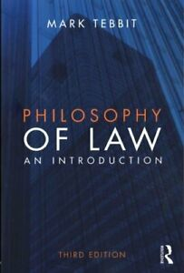 Philosophy-of-Law-An-Introduction-by-Mark-Tebbit-9780415827461-Brand-New