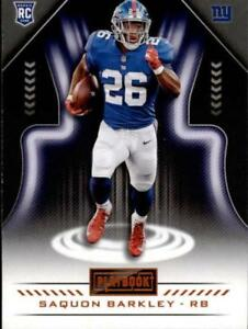 2018-Panini-Playbook-Football-Orange-Parallel-Singles-Pick-Your-Cards