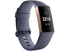 Artikelbild FITBIT Charge 3 Fitnesstracker S Aluminium Blaugrau Rosegold NEU OVP