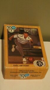 First-Edition-of-PBA-Trading-Cards-1990-Premier-Edition-King-Pins-Earl-Antony