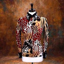 MEDIUM Showmanship Pleasure Horsemanship Show Jacket Shirt Rodeo Queen Rail