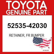 FRONT BUMPER SIDE 5253542030 Genuine Toyota RETAINER RH 52535-42030