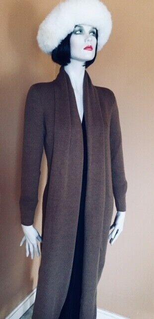 Coat Duster in Baby Baby Baby Alpaca & Silk sz XL ba4140