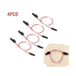 4Pcs-Quick-Connect-10-Gauge-13-034-2-poliger-SAE-Kabelbaumstecker-12V