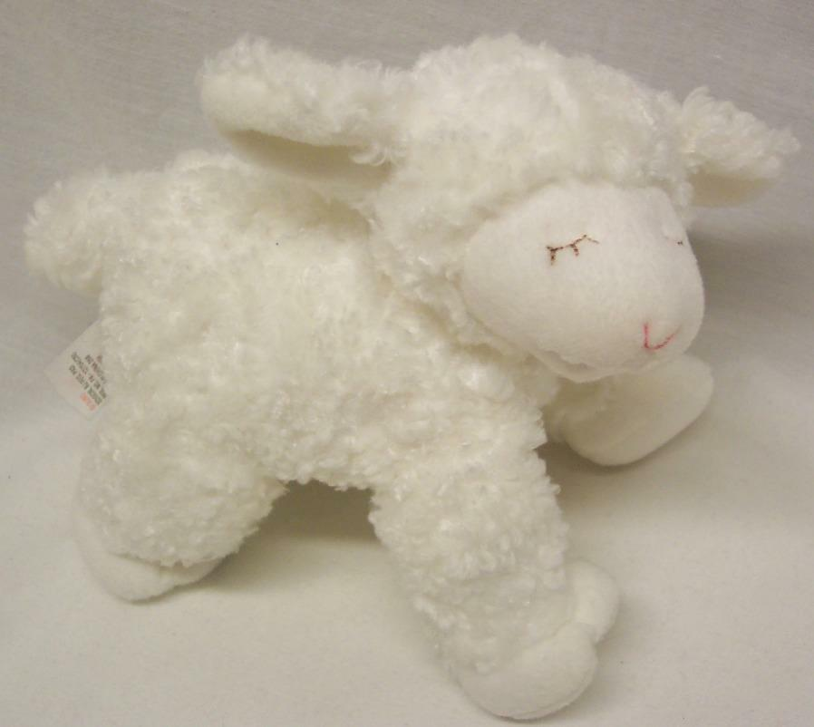 Baby Gund SOFT Weiß WINKY RATTLE THE LAMB RATTLE WINKY 8
