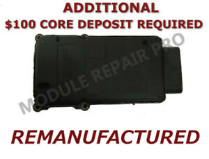 Details about REMAN 05 06 07 Ford E-150 E-250 E-350 ABS Pump Control Module  12-10217 EXCHANGE