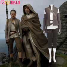 DFYM 2017 New Star Wars The Last Jedi Rey Cosplay Costume Full Set Custom Made