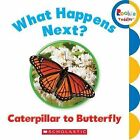 What Happens Next? Caterpillar to Butterfly by Scholastic (Board book, 2013)