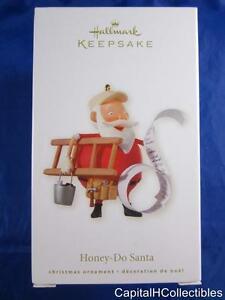 2008-Hallmark-Keepsake-Christmas-Ornament-Honey-Do-Santa-Handyman-QXG2221-NIB