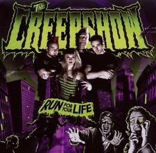 """THE CREEPSHOW """"RUN FOR YOUR LIFE"""" CD NEU 2010 RE-ISSUE"""